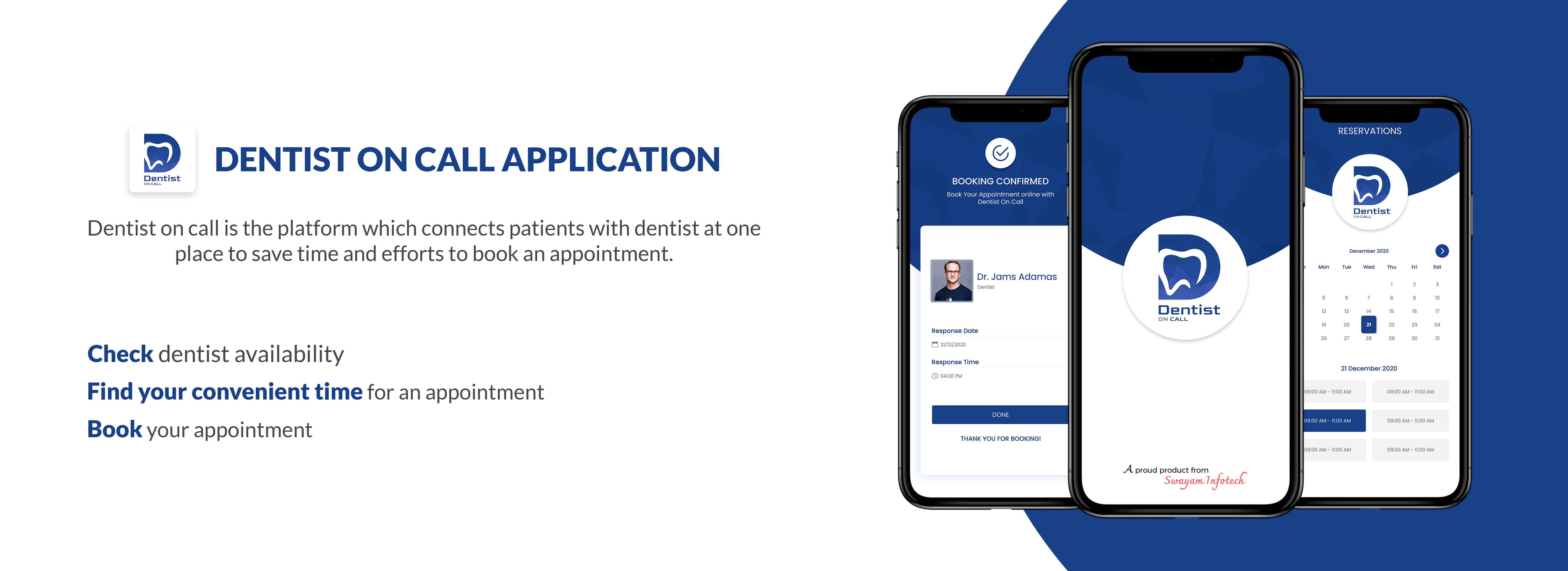 Dentist On Call Application