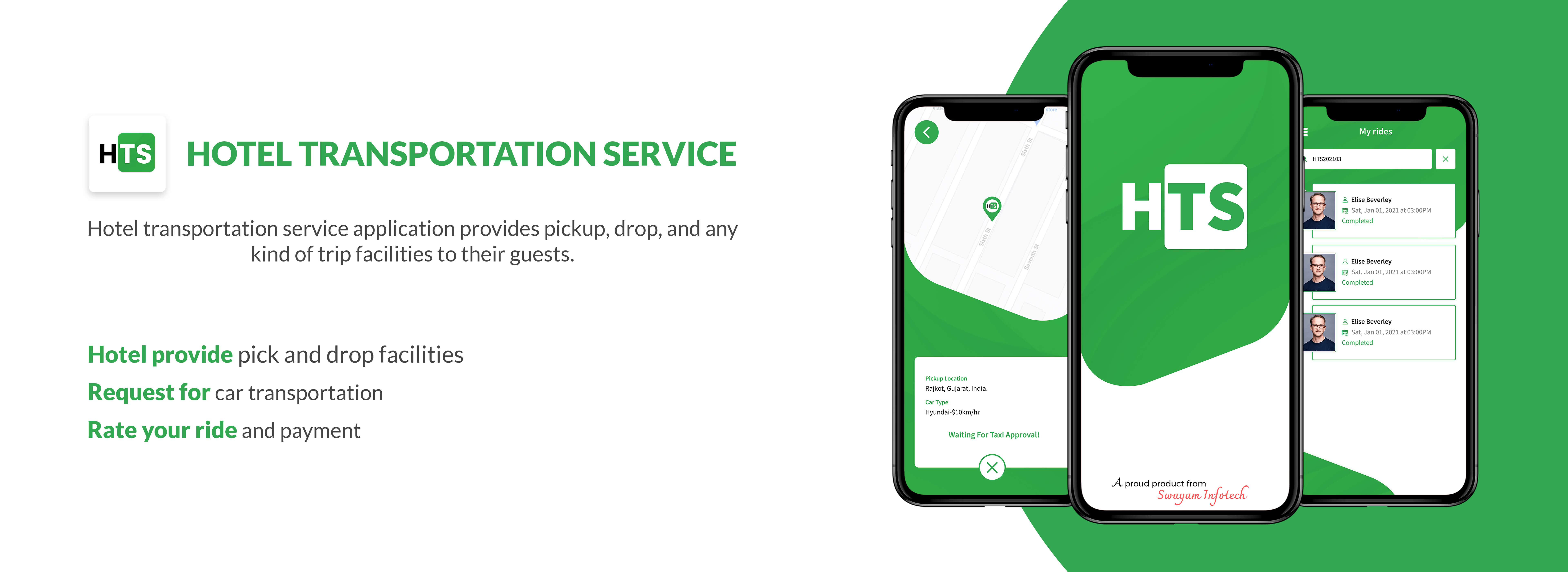 Hotel Transportation Service Application